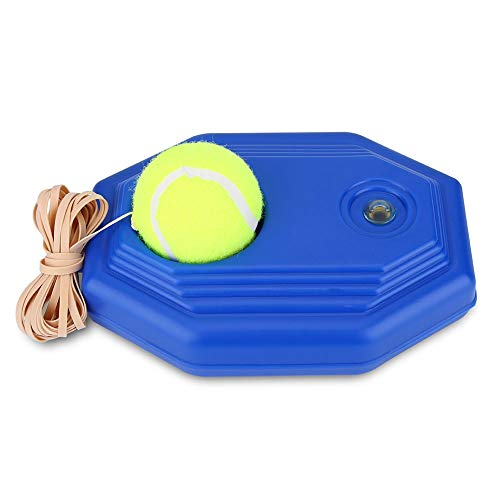 SOONHUA Tennis Trainer Rebound Ball Tennis Ball Back Base Trainer Set mit Gummiband für Einzelübungen