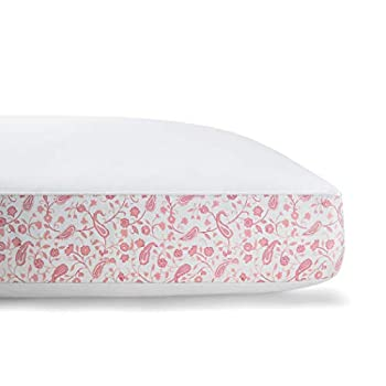 Laura Ashley Home – Cotton Sateen Pillow – 300T - Pink - King