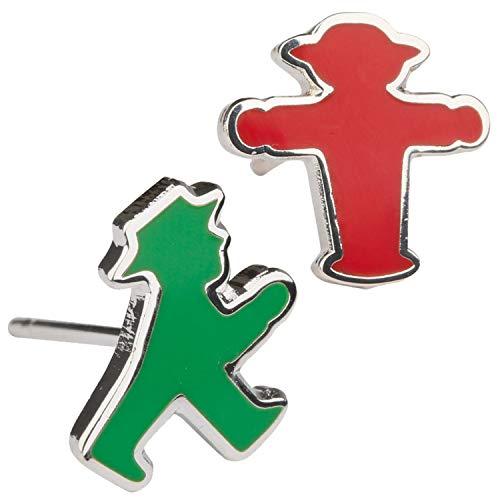 Ostprodukte-Versand.de Ohrstecker Paar rot u. grün Ampelmännchen - für Ostalgiker