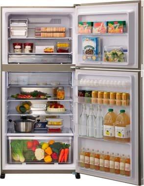 Sharp SJ-XG690GSL frigorifero con congelatore Libera installazione Argento 550 L A++