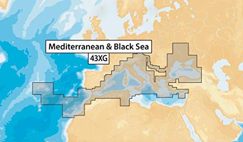 Navionics+ 43XG Update - Mediterranean & Black SEA MSD