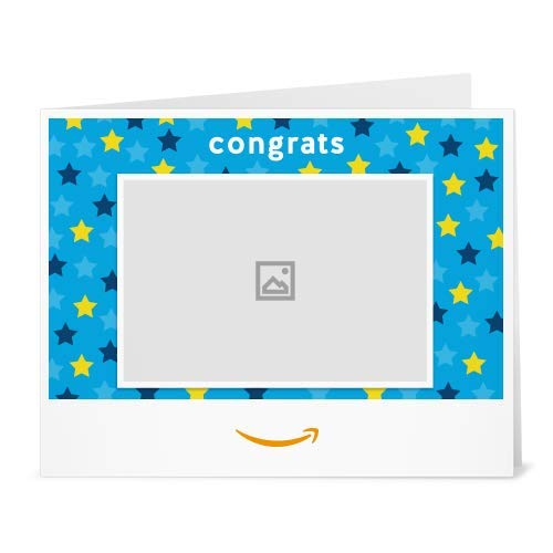 Amazon Gift Card  -  Congrats Stars (Your Upload)