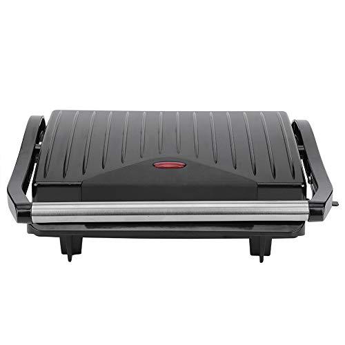 Parluna Macchina per Bistecca elettrica Antiaderente da 750 W, pressa per panini Senza Fumo, griglia da Interno per Cucinare in Modo Sano Cucina da appoggio