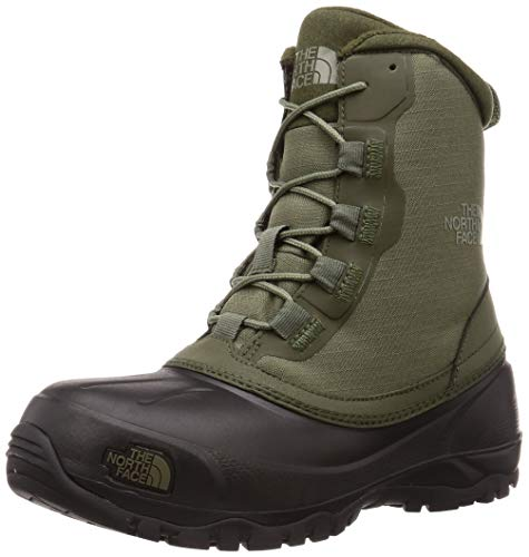 [ザノースフェイス] ブーツ スノーショット6″ ブーツテキスタイルV ユニセックス NF51960 ニュートープグリーン/TNFブラック 26