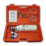Maleta de emergencias con botella de oxígeno vacía - E1001