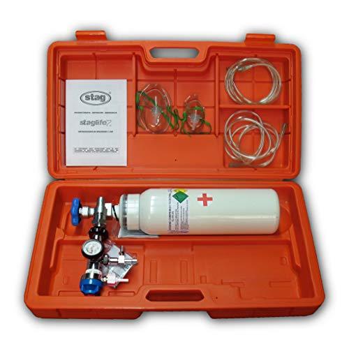 Maleta de emergencias con botella de oxígeno vacía - E1001 ✅