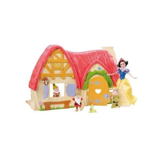 Mattel – giochi bimbi disney playset IL COTTAGE DI BIANCANEVE V1836