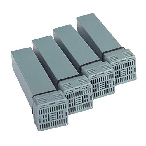 WCCCY CPAP-Filterelement Geeignet für Soclean 2 Ersatzfilterelement Kit enthält Vier Elemente und Rückschlagventile Zubehör
