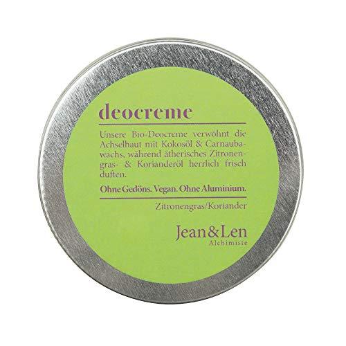 Jean & Len Deocreme Zitronengras/Koriander, 50 ml