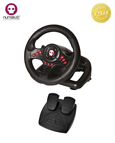 Universal volante y pedales para PC, PlayStation 3/4, PS3 / PS4 y Xbox One