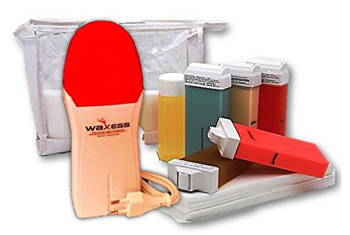 Waxing Set für Zuhause für Haarentfernung mit Warmwachs Waxing Kit Haarentfernungsgerät Haarentferner für Zuhause