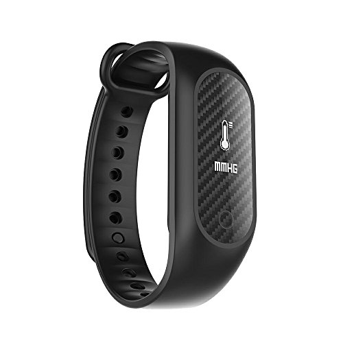 Fitness Activity Tracker,Coolbit Health Monitor Smart Band Wristband Pedometer Sports Bracelet W/ Heart Rate Blood Pressure Sleep Monitor Waterproof Call Reminder Smart Watch for Android and IOS phone