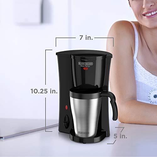 Black & Decker DCM18S Brew n' Go Coffeemaker