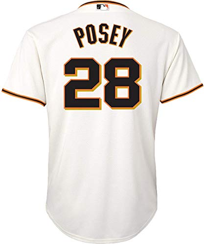 Buster Posey San Francisco Giants Cream Toddler Cool Base Home Replica Jersey (Toddler 2T)