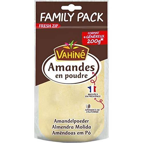Vahiné Amandes en poudre - Le sachet de 200g