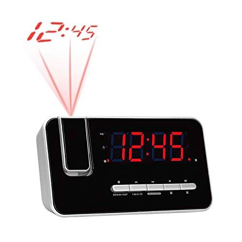 Denver CRP-618 Horlogeradio (wekker, PLL FM-radio, display 3,0 cm (1,2 inch), projectie)