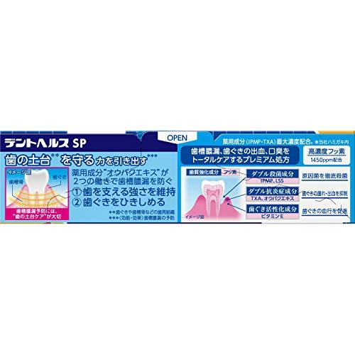 デントヘルス[医薬部外品]歯槽膿漏予防に薬用ハミガキSP単品90g