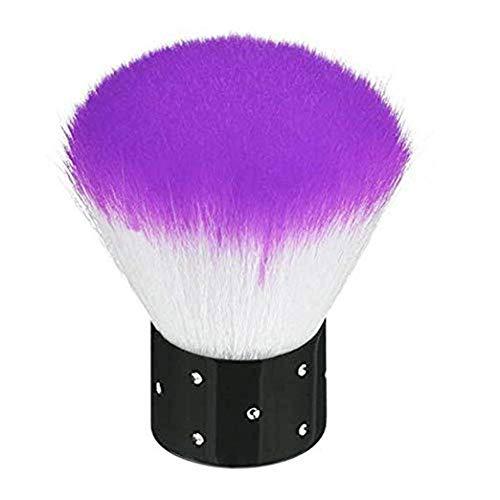 Nagelstaub-Pinsel, für Make-up oder Nagelkunst, bunt, weiche Pinsel, Puderpinsel, Nagelkunst,...