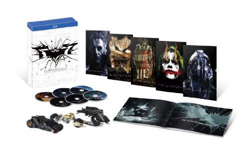 (6-disc) (5,000 Sets Only) Dark Knight Complete Trilogy Ultimate Collector's Edition [Blu-ray]