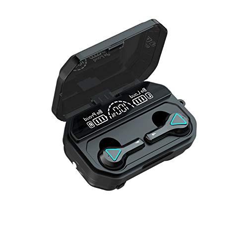 Auriculares Bluetooth 5.1 Auricular Inalámbrico Control Táctil con Graves Profundos In-Ear Auriculares Bluetooth con Caja de Carga Rápida IPX7 Impermeables,para Android/iPhone/Airpods2/Samsung