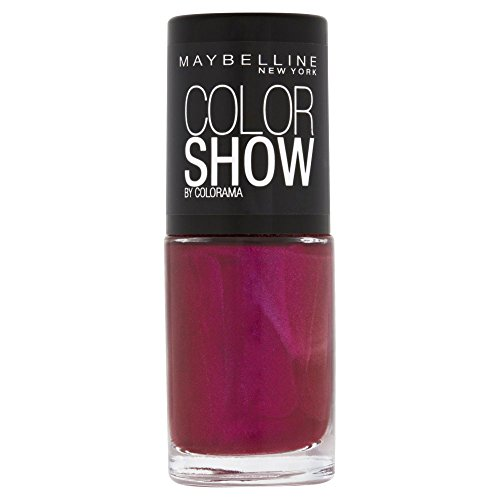 Maybelline New York Make-Up Nailpolish Color Show Nagellack Berry Fusion / Ultra glänzender...