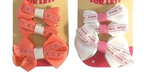 Clips Pelo Bebe Navidad Marca Bits 'n' Bobbles