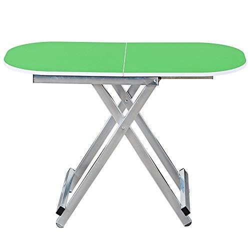 SQQ Outdoor Tragbare Klapptisch Camping Tisch Picknicktisch Aluminium Bett Laptop Computer Tisch Einfache Kleine Esstisch Kindertisch Multifunktion Ultraleichte Tragbare 80 X 40 X 75 cm