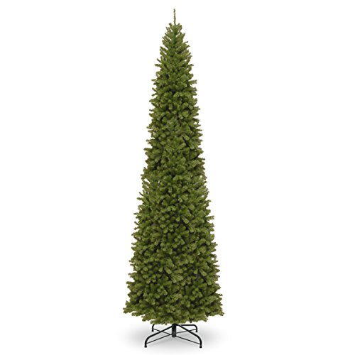 National Tree 12 Foot North Valley Spruce Pencil Slim Tree