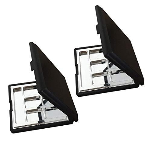 B Blesiya 12 Pans Boîtier Palette de Maquillage Magnétique Vide pour Rangement et DIY Fard à Paupières Poudre Compacte BB Crèm