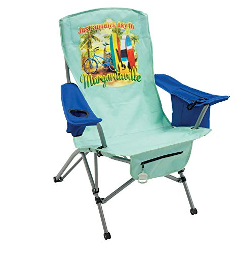 "Margaritaville Outdoor Suspension Folding Chair - Just Another Day in Paradise, 29"" x 34"" x 40"""
