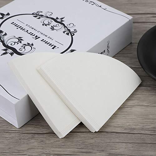 Einweg-Kaffeefilterpapier Filterpapier Tropfkaffeepulver für Cafe for Office