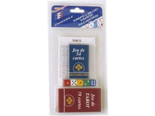 Yam's : Bloc, 54 Cartes, Tarot - Double Coque