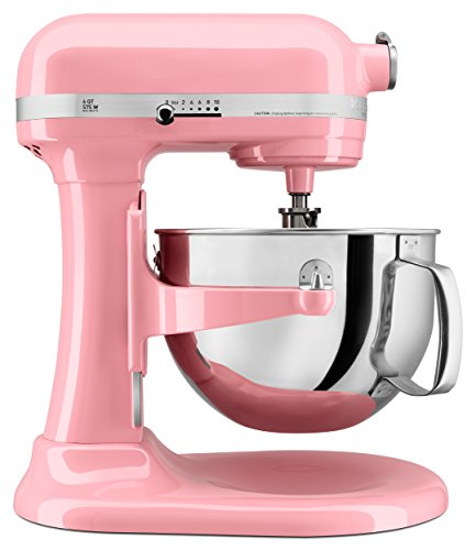 different types of kitchenaid mixers KITCHENAID Professional 600 Series 6-Qt. Bowl-Lift Stand Mixer, Guava Glaze
