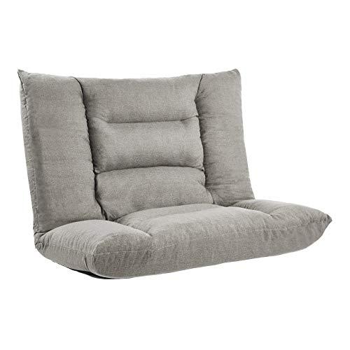 Amazonbasics Adjustable Foam Floor Sofa - Grey
