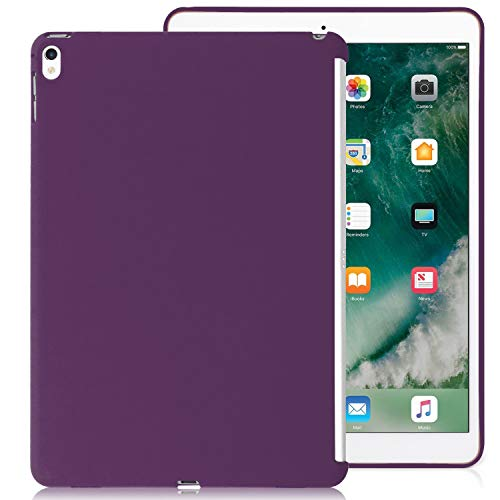 KHOMO Case iPad Air 3 10.5 (2019) / iPad Pro 10.5 (2017) Purple Back Case Ultra Slim and Light Compatible with Smart Cover - Purple