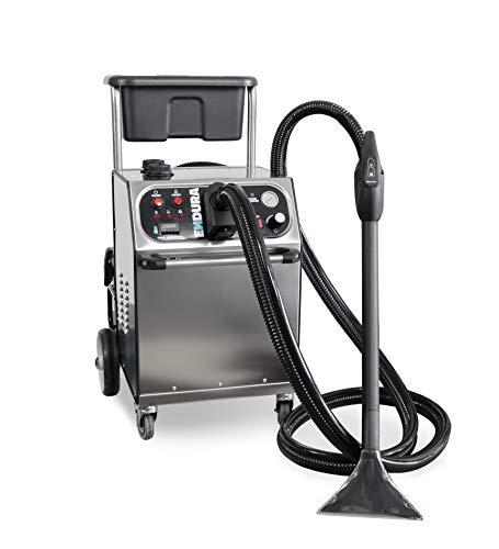 Hydromatic ENDURA Dampfreiniger 8bar mit chemischer Ausgabe und integriertem Nasssauger, Profi-400 Volt, Multi-Zubehör-Set