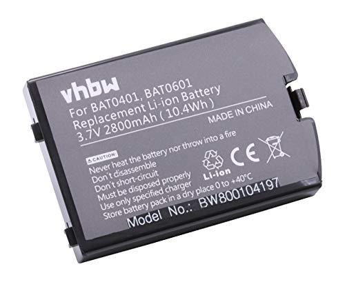Batería Li-Ion 2800mAh (3.7V) Apto para Iridium 9505A (teléfono satelital). Reemplaza los...