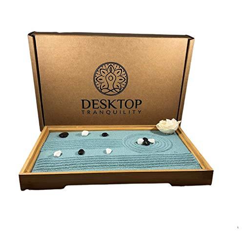 Mini Japanese Desktop Zen Garden Kit - Zen Desk Decor
