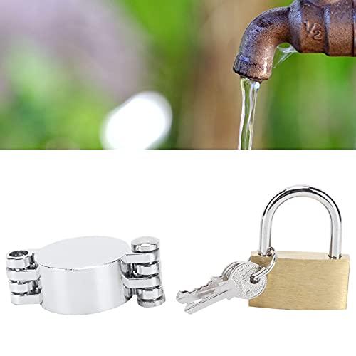 CUTULAMO Llave de Llave, Junta de Goma, Llave de Agua, Cerradura de latón, no autorizada para Casas desocupadas para propiedades de Alquiler