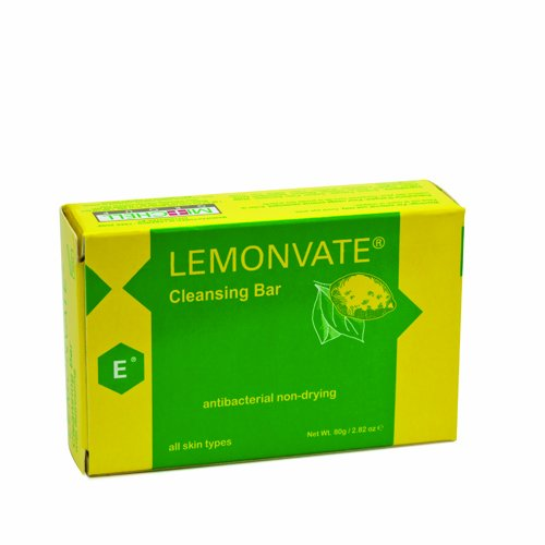 Lemonvate Soap 80g - Germs Remover, Formulated to Fight Bacteria, with Vitamin C
