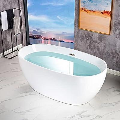 WOODBRIDGE BTA1518-C-Drain &O Bathtub, Chrome
