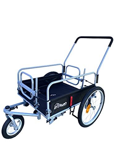 Booyah's Cargo Stroller and Bicycle Bike Trailer Beach Fishing Cart
