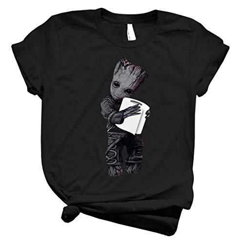 Bâby-Grốot Húg Toilet Paper Córônavirús T-Shirt Long Sleeve Sweatshirt Hoodie