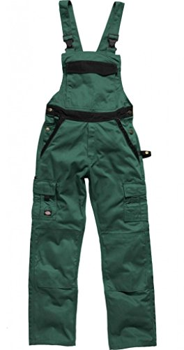 Dickies tuinbroek Industry 300 groen/zwart GNB-26, IN30040