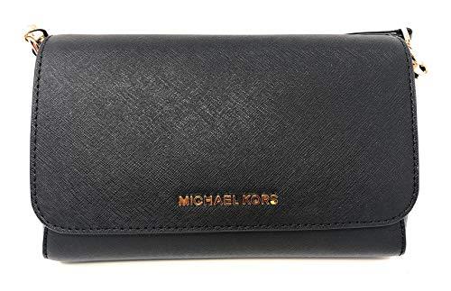 Michael Kors Medium Convertible Pouchtte Leather Crossbody Shoulder Bag