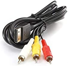 RCA AV A/V for Sega Dreamcast Stereo Audio Video TV Adapter Cable