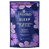 Westlab's Sleep Epsom & Dead Sea Salts with Lavender & Jasmine - 1kg Resealable Pouch