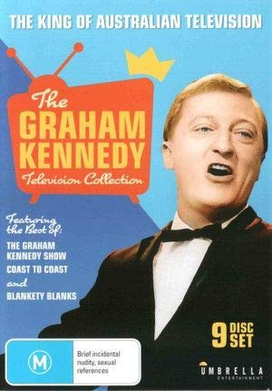 Graham Kennedy Television Collection - 9-DVD Box Set ( Graham Kennedy's News Show / Blankety Blanks / Coast to Coast ) [ Australische Import ]