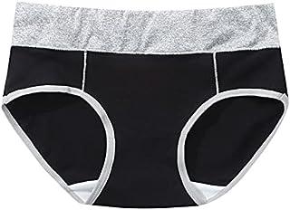 Jiangzhyestnnk Women Underwear, Underwear Women Plus Size Panties Girl Briefs Sexy Lingeries Cotton Shorts Underpants Soli...