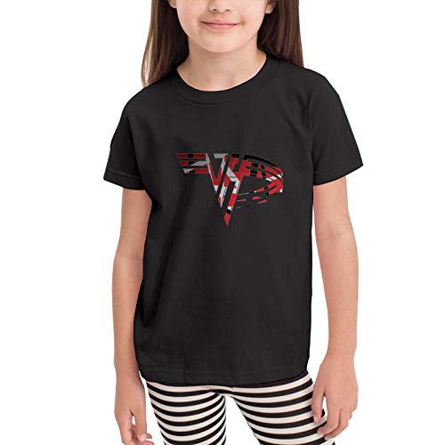 Eddie Van Halen Unisex Children's T-Shirt up to age 6, black or white, skin friendly